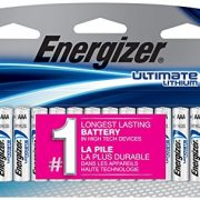 Energizer Ultimate Lithium AAA Batteries, 12 Count $12.99