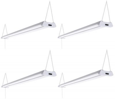 Triglow 40w Led 4 Foot Linkable Shop Lights Pack Of 4 99 99