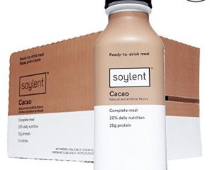Soylent Meal Replacement Shake, Cacao, 14 oz Bottles, 12 Pack $25.35