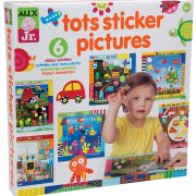 ALEX Jr. Tots Sticker Pictures $5.48
