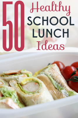 Lunchables and other prepackaged lunches are bad for your wallet and your kids' health! Try these healthy school lunch ideas instead!