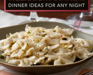 Friday Freebies-Free 12 Easy Weeknight Dinners eCookbook
