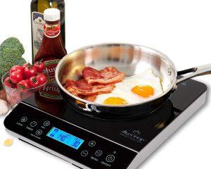 Duxtop LCD 1800-Watt Portable Induction Cooktop Countertop Burner 9600LS $74.99