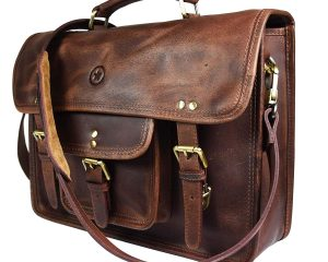 Save Big on Genuine Leather Laptop Messenger Bags by Aaron Leather