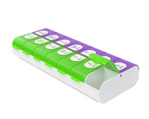 Ezy Dose Easy Fill Weekly (7-day) Pill Planner $3.98