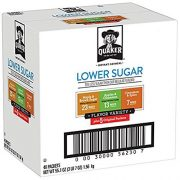 Quaker Instant Oatmeal, Lower Sugar, Variety Pack, 48 Pack, Only $8.07