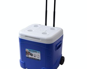 Igloo Ice Cube Roller Cooler (60-Quart, Ocean Blue) Only $24.44