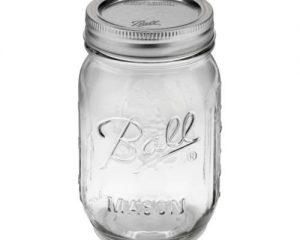 Ball Pint Jar, Regular Mouth, Set of 12 6oz $6.07