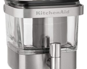 KitchenAid Cold Brew Coffee Maker, Brushed Stainless Steel Only $64.99