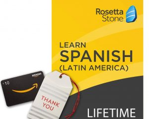 Save 40% on Rosetta Stone Lifetime Access and Get $10 Giftcard