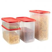 Rubbermaid Modular Food Storage Canisters, 8-Piece Set, Only $12.62