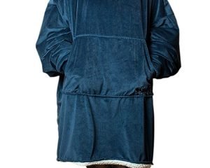 The Comfy: Warm, Soft Sherpa Blanket Sweatshirt, Seen on Shark Tank $34.99