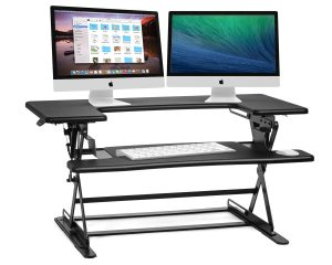 Halter ED-600 Preassembled Height Adjustable Desk Sit to Stand Elevating Desktop $119.99