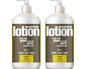 Everyone Lotion, Coconut and Lemon, 32 Ounce, 2 Count $11.16