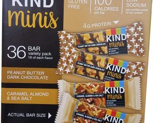 Kind Mini Chocolate Bars Variety Pack (36 ct) Only $18.54