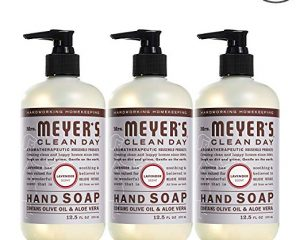 Mrs. Meyer's Liquid Hand Soap, Lavender, 12.5 fl oz (3 ct) $8.79