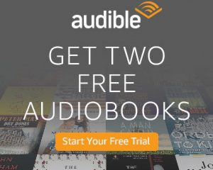 Saturday Freebies – Free 1 Month Audible Subscription With 2 Free Audiobook Credits