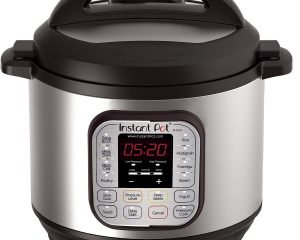INSTANT POT DUO80 8 QT 7-IN-1 MULTI- USE PROGRAMMABLE PRESSURE COOKER, SLOW COOKER, RICE COOKER, STEAMER, SAUTÉ, YOGURT MAKER AND WARMER $79.99