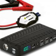 Rugged Geek RG1000 Safety 1000A Portable Car Jump Starter, Battery Booster Pack and Power Supply $67.77