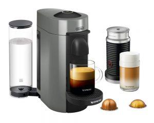 Nespresso VertuoPlus Coffee and Espresso Maker Bundle with Aeroccino Milk Frother $119.99