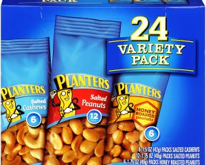 Planters Nut 24 Count-Variety Pack Only $6.89