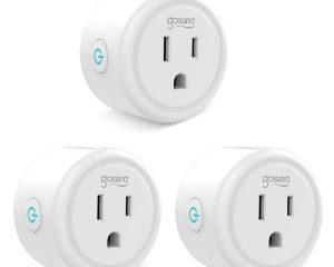 Up to 30% off on Gosund Smart Plug (Works with Alexa)