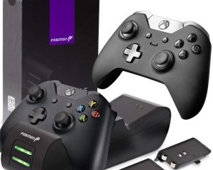 Xbox One/One X/One S Controller Charger, [Dual Slot] High Speed Docking/Charging Station $17.49