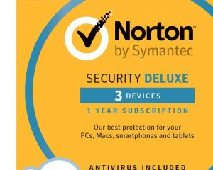 Norton Security Deluxe – 3 Devices [Download Code] $19.99