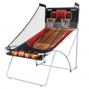 ESPN EZ Fold Indoor Basketball Game for 2 Players with LED Scoring and Arcade Sounds (6-Piece Set) $111.99