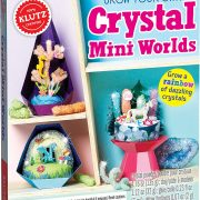 Klutz Grow Your Own Crystal Mini Worlds $9.80