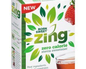 Friday Freebies-Free Sample of Born Sweet Zing Organic Stevia Sweetener