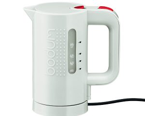 Bodum Bistro Electric Water Kettle, 17 Ounce, .5 Liter, White $12.42