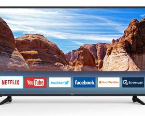 Seiki 60″ Class 4K Ultra HD Smart LED TV Only $330
