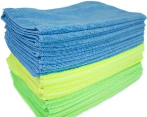 Zwipes 1015303 Microfiber Cleaning Cloths | All-Purpose | Assorted Colors | 36 Pack $14.84