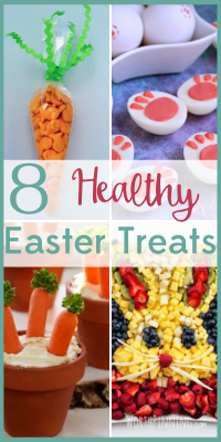 Yes, your kids will still want candy, but they'll also be happy to eat these adorable and healthy Easter treats!