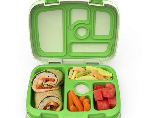 Bentgo Kids Childrens Lunch Box – Bento-Styled Lunch Solution Offers Durable, Leak-Proof, On-the-Go Meal and Snack Packing $19.50