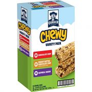 Quaker Chewy Granola Bars, Variety Pack, 58 Count $7.03