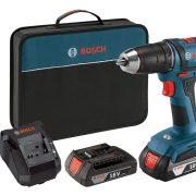 """Bosch Power Tools Drill Kit – DDB181-02 – 18-Volt, ½"""", Compact Drill $74.99"""