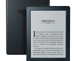 KINDLE E-READER – BLACK, 6″ DISPLAY, WI-FI, BUILT-IN AUDIBLE $49.99