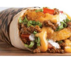 Monday Freebies-Free Meat & Potato Burrito from Taco John's
