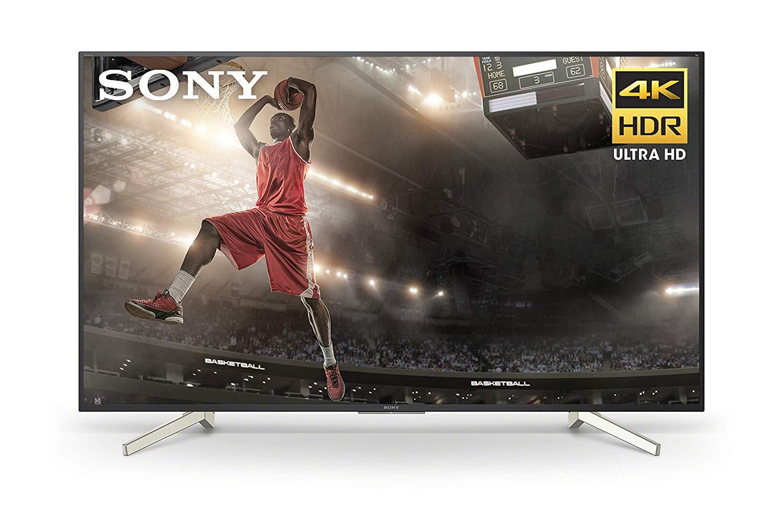 sony xbr60x830f 60 inch 4k ultra hd smart led tv 2018. Black Bedroom Furniture Sets. Home Design Ideas