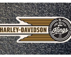 Wednesday Freebies-Free Harley-Davidson The Battle of The Kings Sticker
