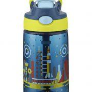 Contigo AUTOSPOUT Straw Gizmo Flip Kids Water Bottle, 14 oz., Nautical with Space Station $7.14