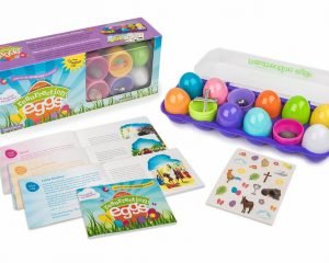 Family Life Resurrection Eggs – 12-Piece Easter Egg Set with Booklet and Religious Figurines Inside – Tells the Full Story of Easter $13.64