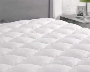 ExceptionalSheets Rayon from Bamboo Mattress Pad with Fitted Skirt $76.99