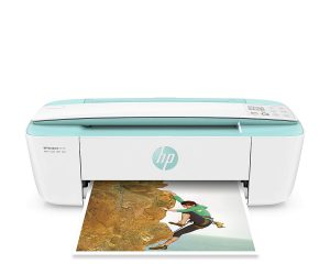 HP DeskJet 3755 Compact All-in-One Wireless Printer with Mobile Printing, Instant Ink ready $49.89