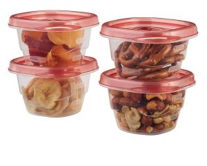 RUBBERMAID MINI FOOD STORAGE CONTAINERS, (0.5 CUP), (6 PACK) ONLY $3.27