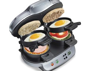 Hamilton Beach Dual Breakfast Sandwich Maker  $27.49