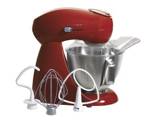 Hamilton Beach 63232 Eclectrics All-Metal Stand Mixer – Red $139.99