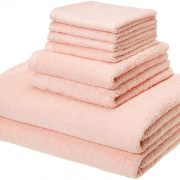 AmazonBasics Quick-Dry Towels – 100% Cotton, 8-Piece Set Starting at Only $12.99